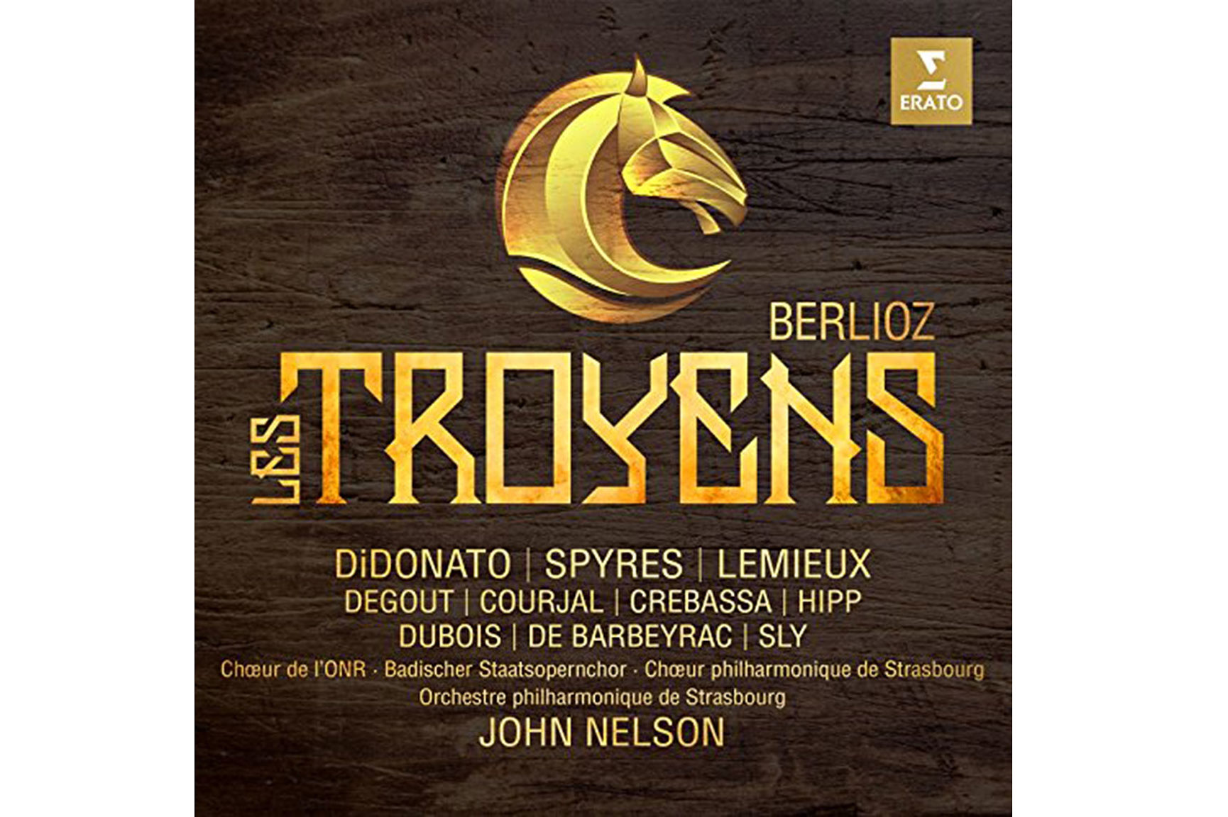 Launch of Warner recording of Berlioz's Les Troyens, conducted by John Nelson 1