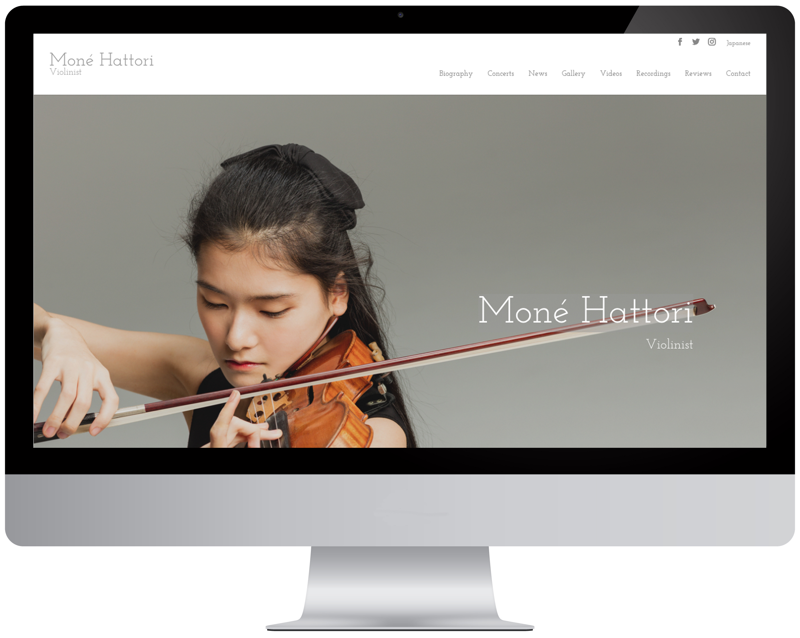Video Production and Website Design Services for Musicians 24