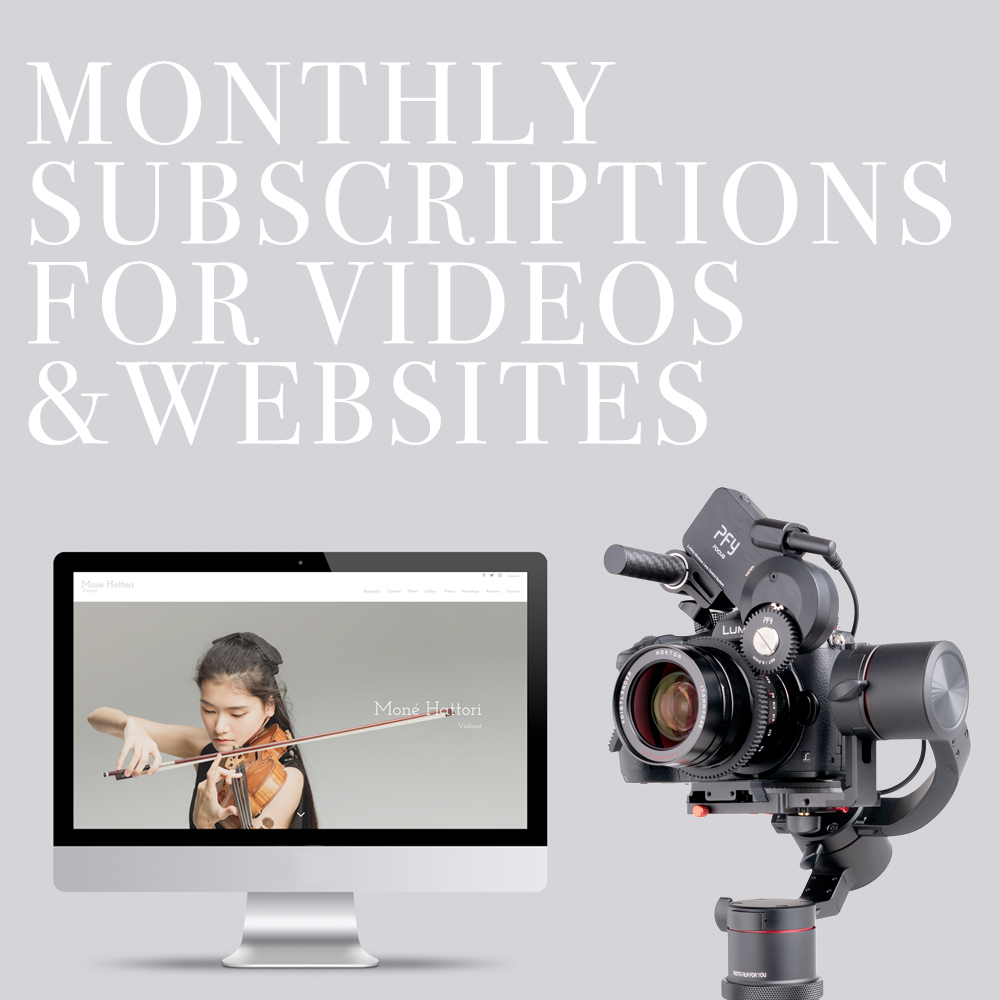 Video Production and Website Design Subscription Services 1