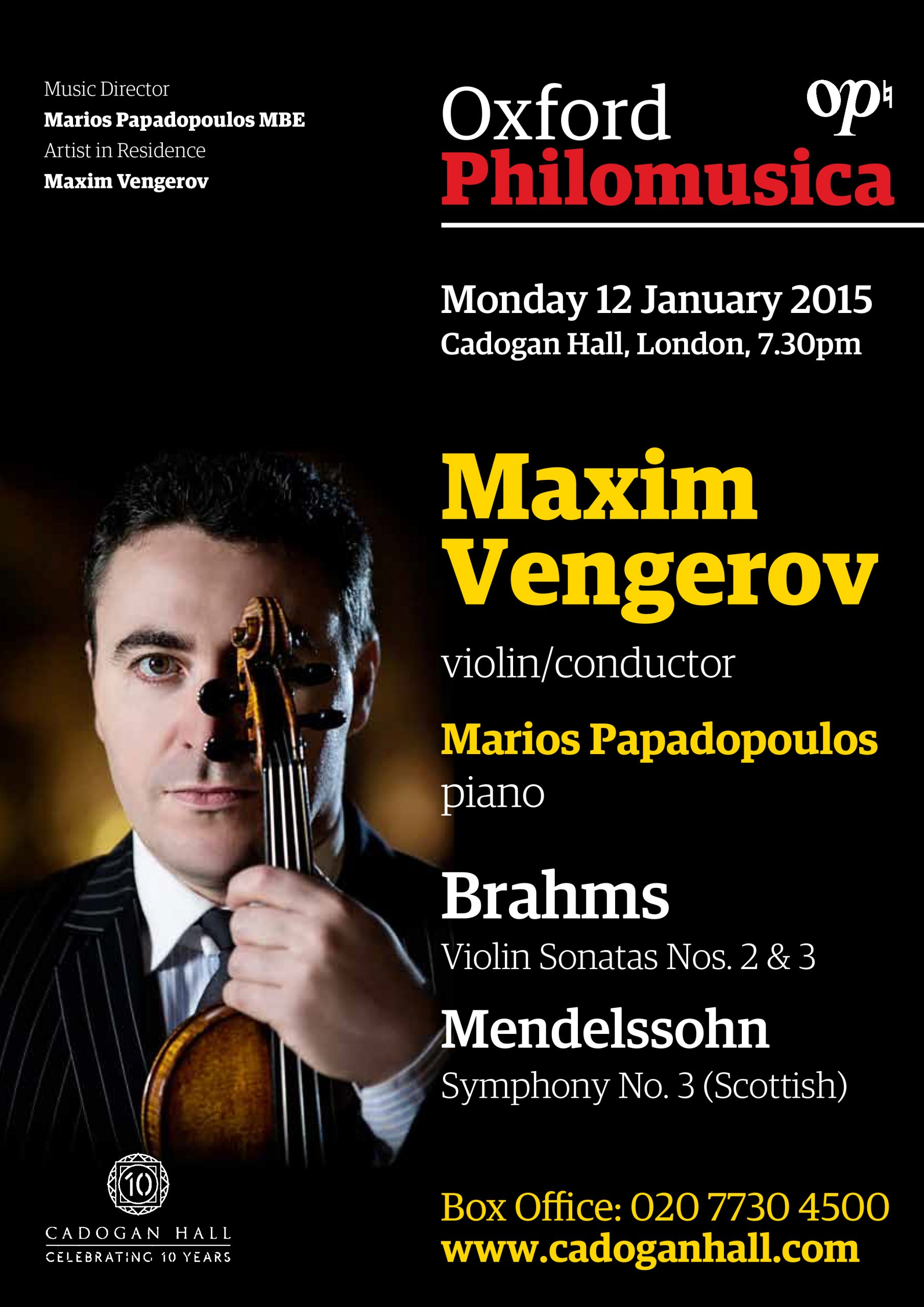 Oxford Philharmonic: The London Concert 1